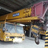 heavy lifting machinery perfect conditions Japanese Truck Cranes