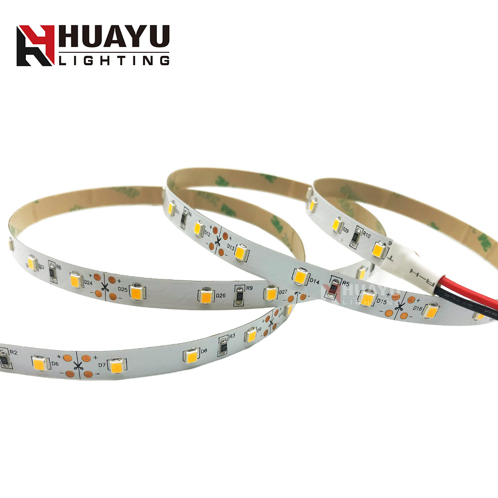 High quality SMD 2835 60leds/m DC12V / DC24V Flexible LED strip bendable for advertising lighting