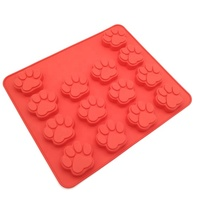 Food grade 14 cavity Bakeware Candy Chocolate Silicone Cake Mold for baking