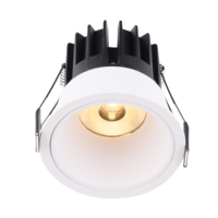New Design Different Reflectors Anti-glare 10W Round Ceiling Recessed Cob Led Downlight