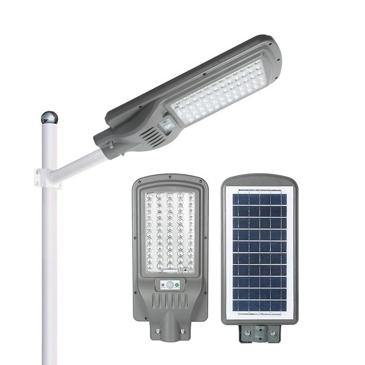 High power outdoor waterproof IP65 60w 90w 120w integrated all in one solar street light