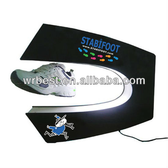 Advertising design for shoes, acrylic shoes advertising display, led shoes display stand & shoes display case/box