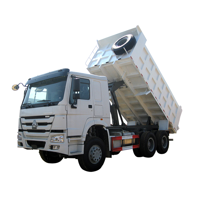 Sinotruk 6x4 Dump Truck With The Overturning Body Platform