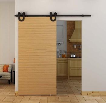 American Style Soundproof Interior Sliding Barn Door Doors Decorative Product On Alibaba