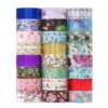Custom Printed Low MOQ 50 Rolls Color Cute Washi Tape Set With China Professional Factory