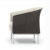 Elegant Modern design chaise bureau PU Leather leisure public armchair