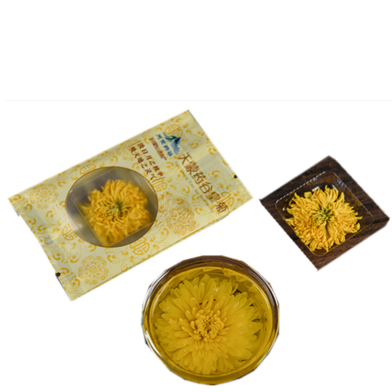 Beautiful Yellow Chrysanthemum Tea Organic Blooming Flower Tea - 4uTea | 4uTea.com
