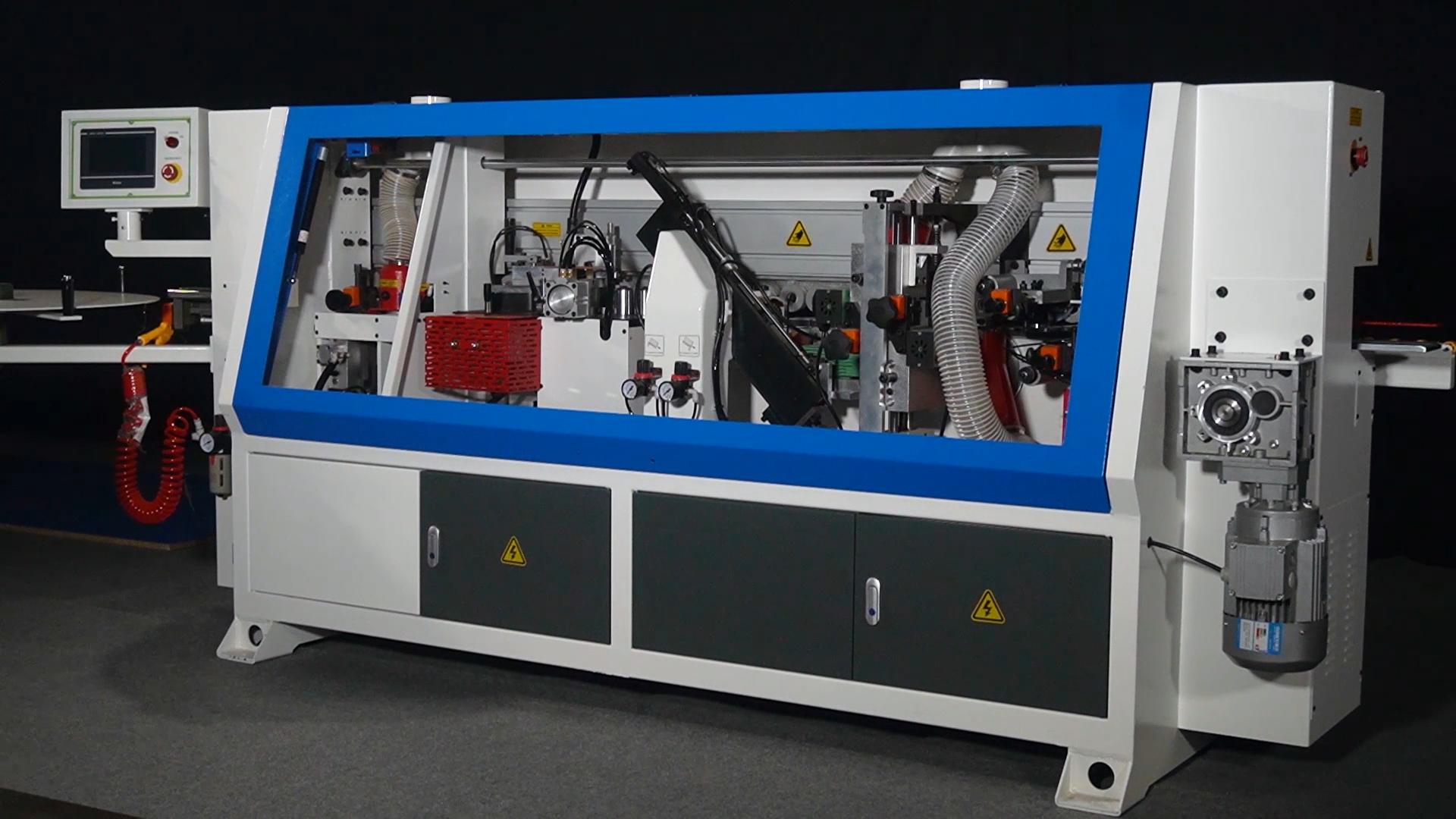 ZICAR Brand MF50QJ automatic edge banding machine with pre-milling