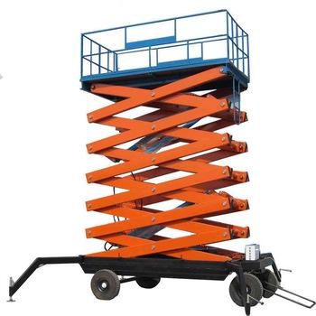 battery powered scissor lift working platform battery powered scissor lift working platform