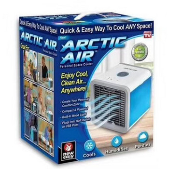 Portable Mini Air Cooler Arctic Air Conditioner 7 Colors LED Light Humidifier personal space cooler in lahore