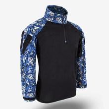 Тактическая рубашка с длинными рукавами BACRAFT Gen3 с рисунком горячего тиснения-XS/S/M/L/XL/XXL(Китай)