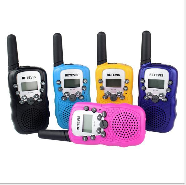 Kinder Radio Spielzeug Walkie Talkie Kinder Radio UHF Zwei-Wege-Radio T-388 Kinder Walkie Talkie Paar für Kinder