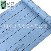 10 м ретро деревянные обои самоклеющиеся промышленный стиль мебели наклейка для ремонта спальни фон стены papel де parede(Китай)