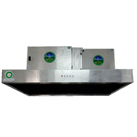Best price commercial hotel stainless steel all in one kitchen hood with esp filter