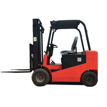 Hot sale electric fork lift truck stacking machine