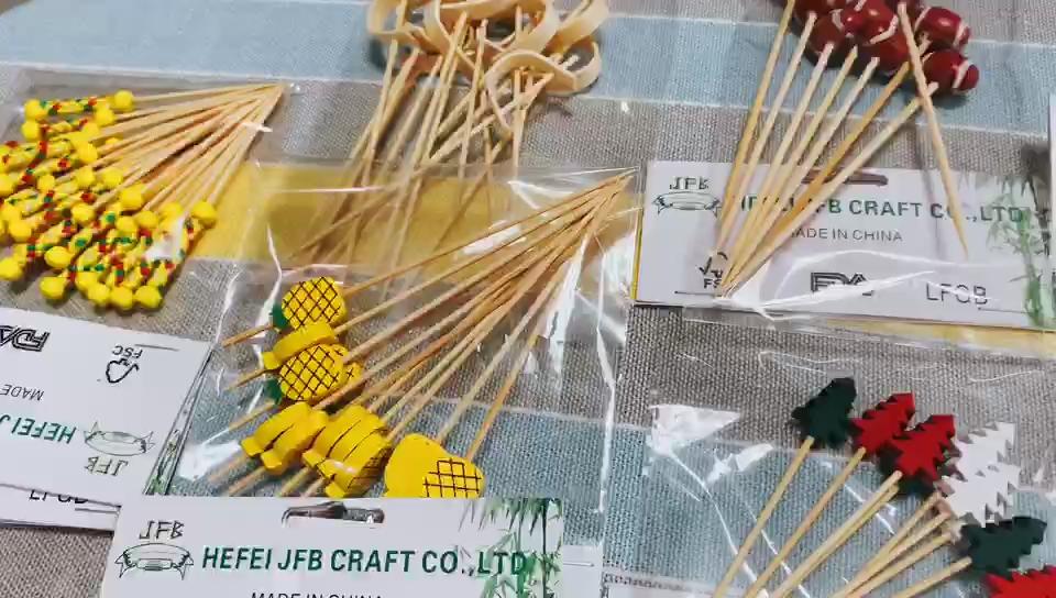 9cm kuchen pan set nicht-stick high carbon stahl bambus pick