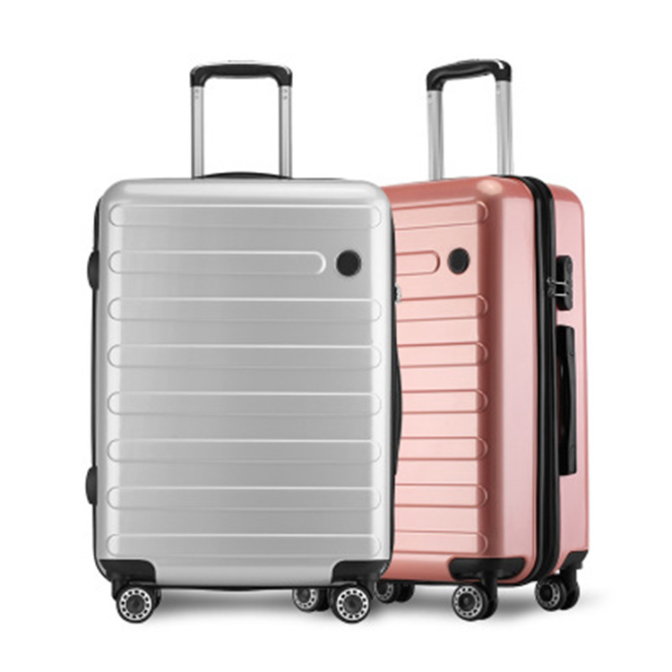 High quality rolling with removable wheels ABS PC travel trolley hard suitcases fancy personalize frame luggages