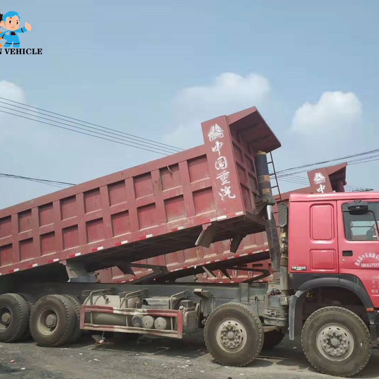 Used Howo Truck for Nigeria and Tanzania