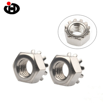 Jinghong Locknut with External-Tooth Lock Washer K Nut