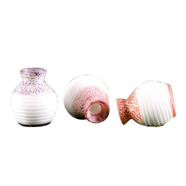 Thin Caliber Mini Flower Pots For Artificial Flower Desk Decoration