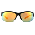 High quality fashion tr90 sports uv400 half frame sunglasses