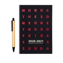 Планировщик Agenda 2020/2021 A5, дневник и дневник, ежедневный блокнот, блокнот для деловых поездок, блокнот с ручкой(Китай)