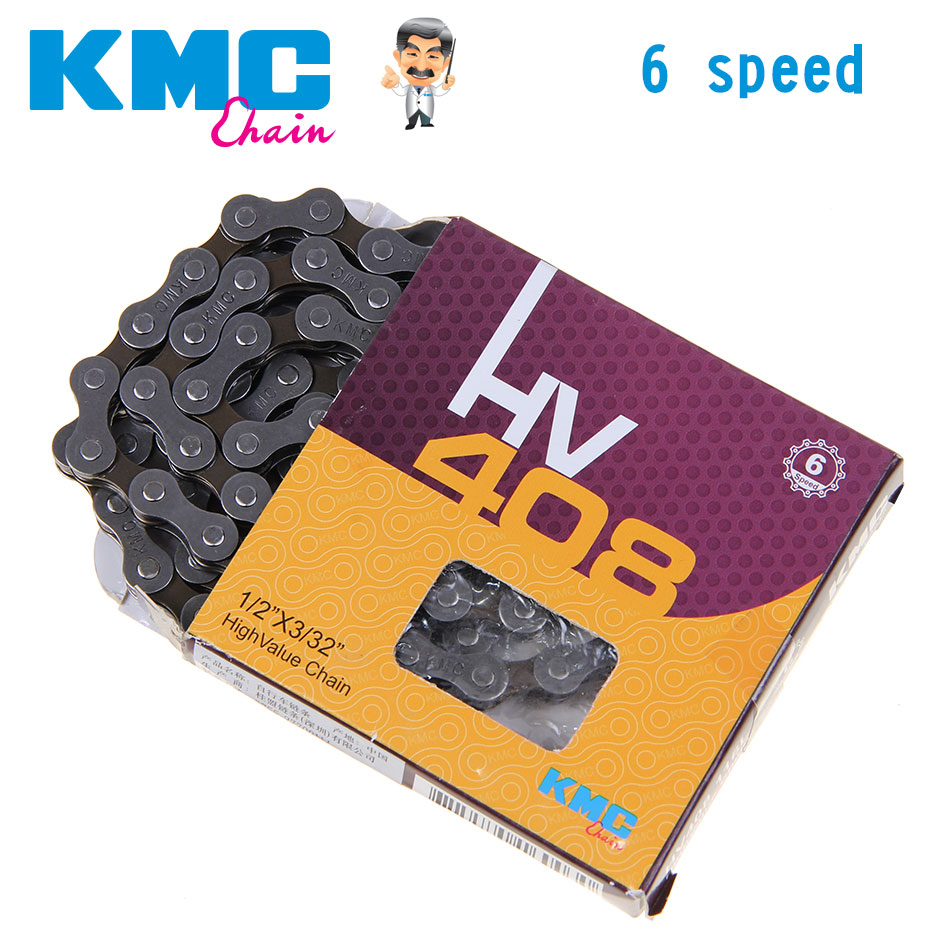 Customized  KMC 6S For MTB Road Bike Chain