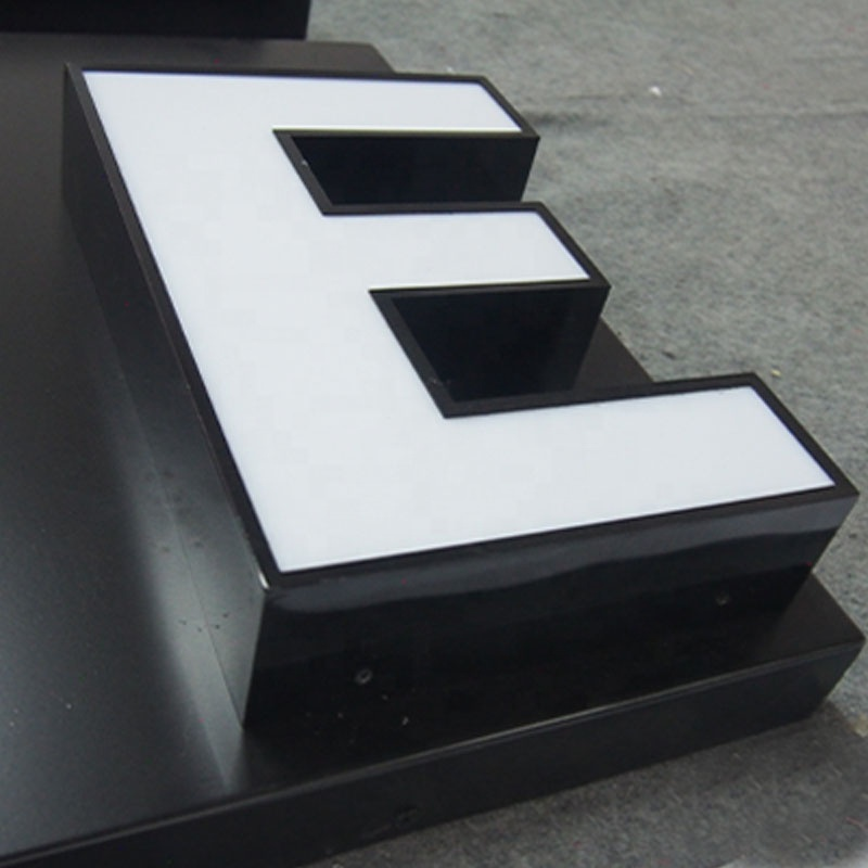 outside exterior inside making illuminated led  channel letter