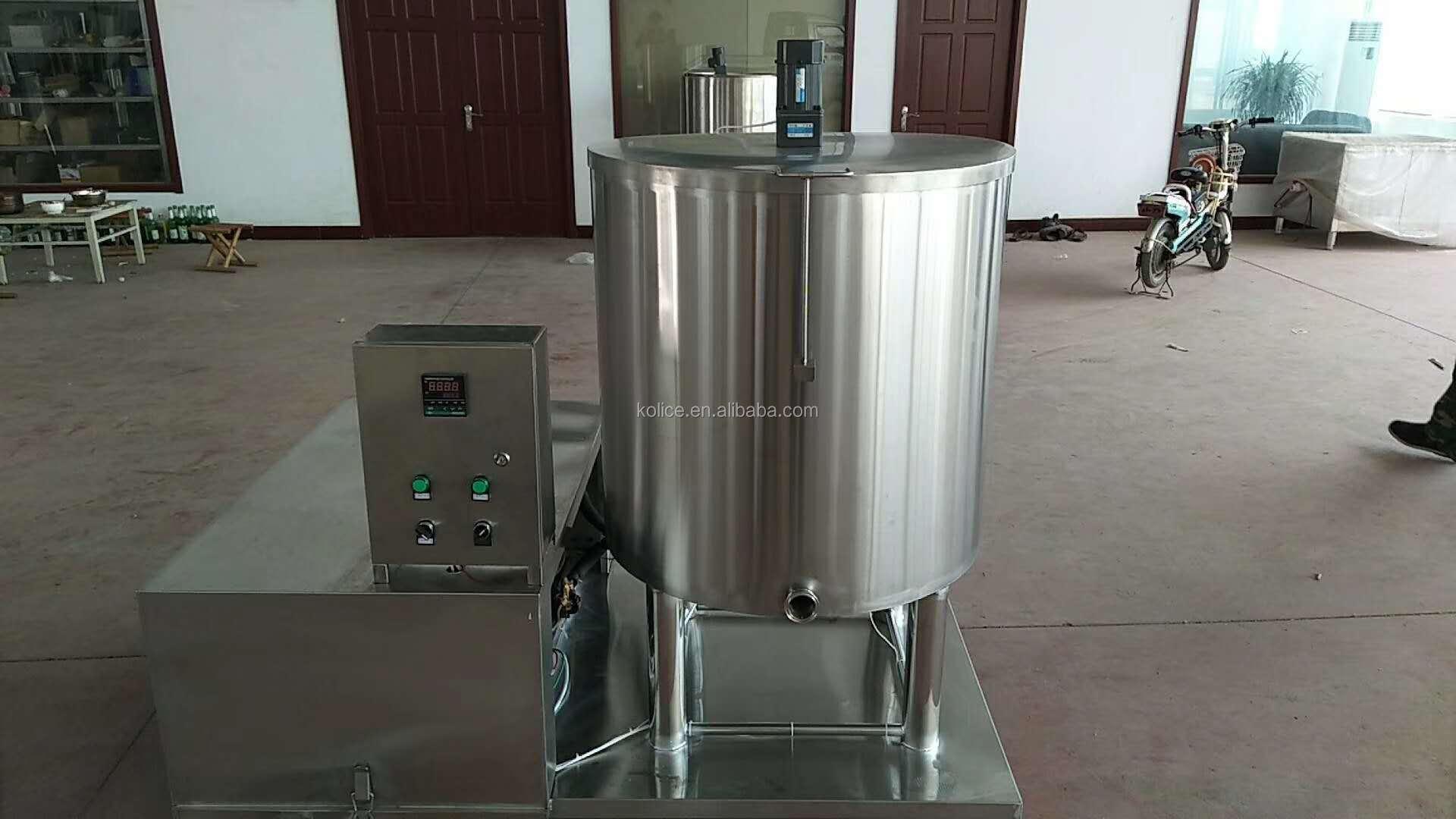 200L 150L 100L कम और उच्च तापमान स्वत: नियंत्रण प्रणाली बैच दूध आइसक्रीम pasteurization pasteurizer निर्माता