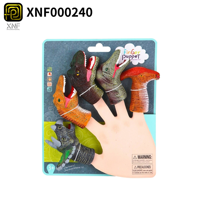 Baby Cartoon Forest Animal Finger Puppets Set For Children Educational Toys