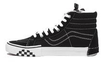 VANS Old Skool обувь для скейтбординга кроссовки черный/белый плед VANS Off The Wall Мужская/Женская Мужская Спортивная обувь Размер 36-44()