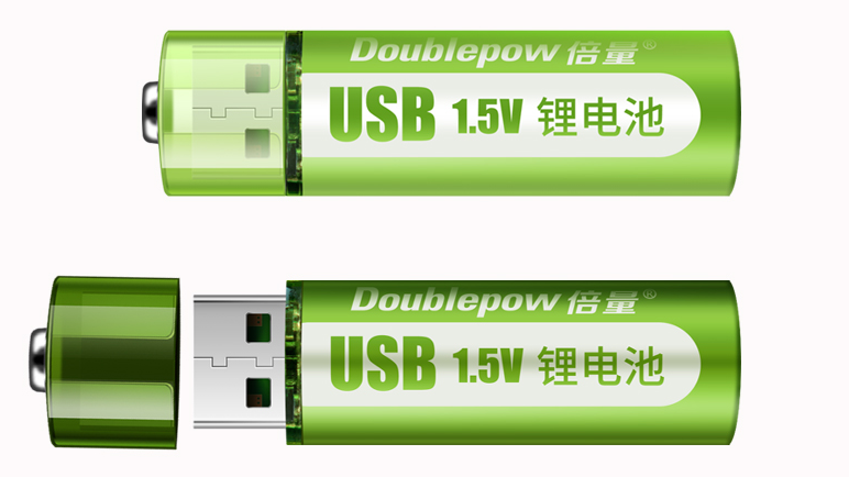 Hot sell 1.5v Constant voltage output AAA am4 lr03 lithium ion battery with micro USB charging port