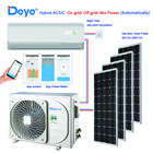 Deye Solar Air Conditioner 24000BTU Hybrid solar powered AC+DC easy installation
