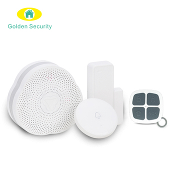WIFI Alarm System Smart Home Security/Tuya Alarm System with door sensor motion sensor remote control for smart home life