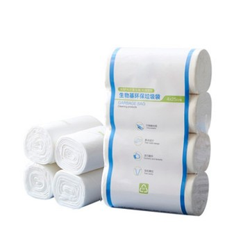 EGP 100% biodegradable compostable garbage plastic bags wholesale
