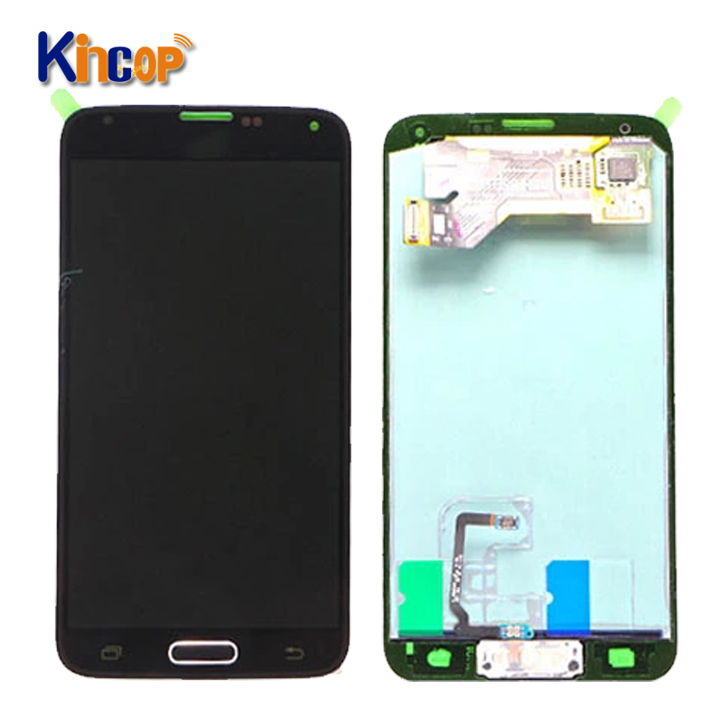 Super AMOLED lcd touch screen display für Samsung Galaxy S5 G900 G900F G900T lcd display