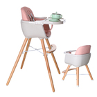 children chair for dinner kid luxury design wooden baby high chair