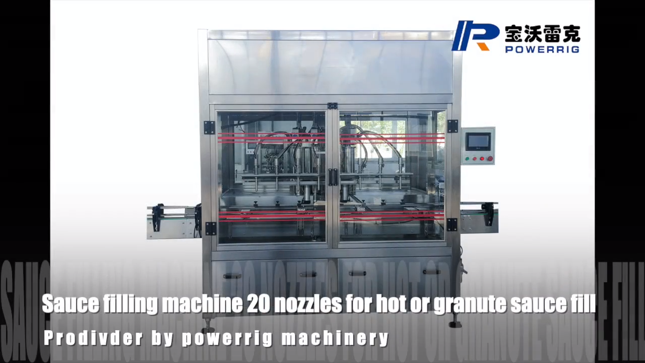Widely used automatic piston filling machine tomato sauce paste filling machine