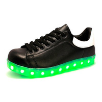New Fashion style Good Quality Adults kids shoes with led lights led light up shoes led shoes for boys adult