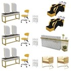 Salon Furniture Great Foshan Factory Durable Beauty Salon Chair Ladies Salon Equipment And Furniture Package For Barber Shop