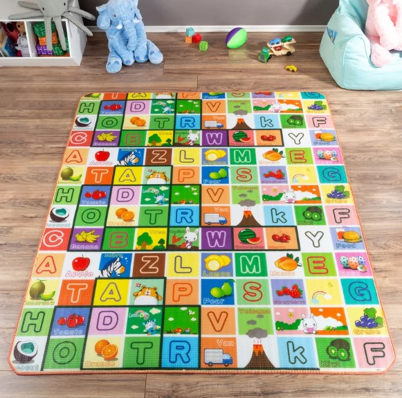 Amazon Top Seller 2019 Non Toxic Cartoon Eco Friendly Material EPE Baby Play Mat