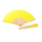 Satin Bamboo Wholesale High Quality Souvenir Satin Bamboo Folding Hand Held Fan Supplies