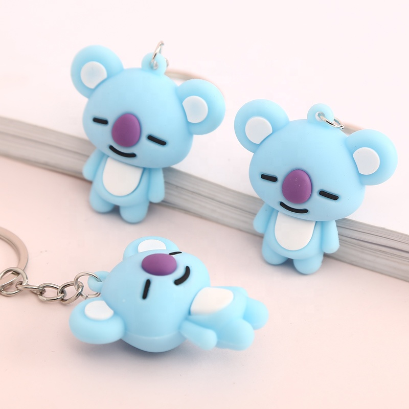 High quality <strong>Cute</strong> Cartoon Koala Keychain Keyring <strong>Gift</strong> women's Girls Bag Pendant Keychains Jewelry Children's <strong>Gift</strong>