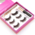 high quality customized eyelash packaging magnetic eyeliner handmade magnetic false eyelashes