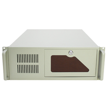 "Quota di PC Computer Industriale Rack Mount Chassis Server di Caso 4U IPC Rackmount Chassis per 8pcs 3.5 ""HDD e 2pcs cd-rom K445FW"