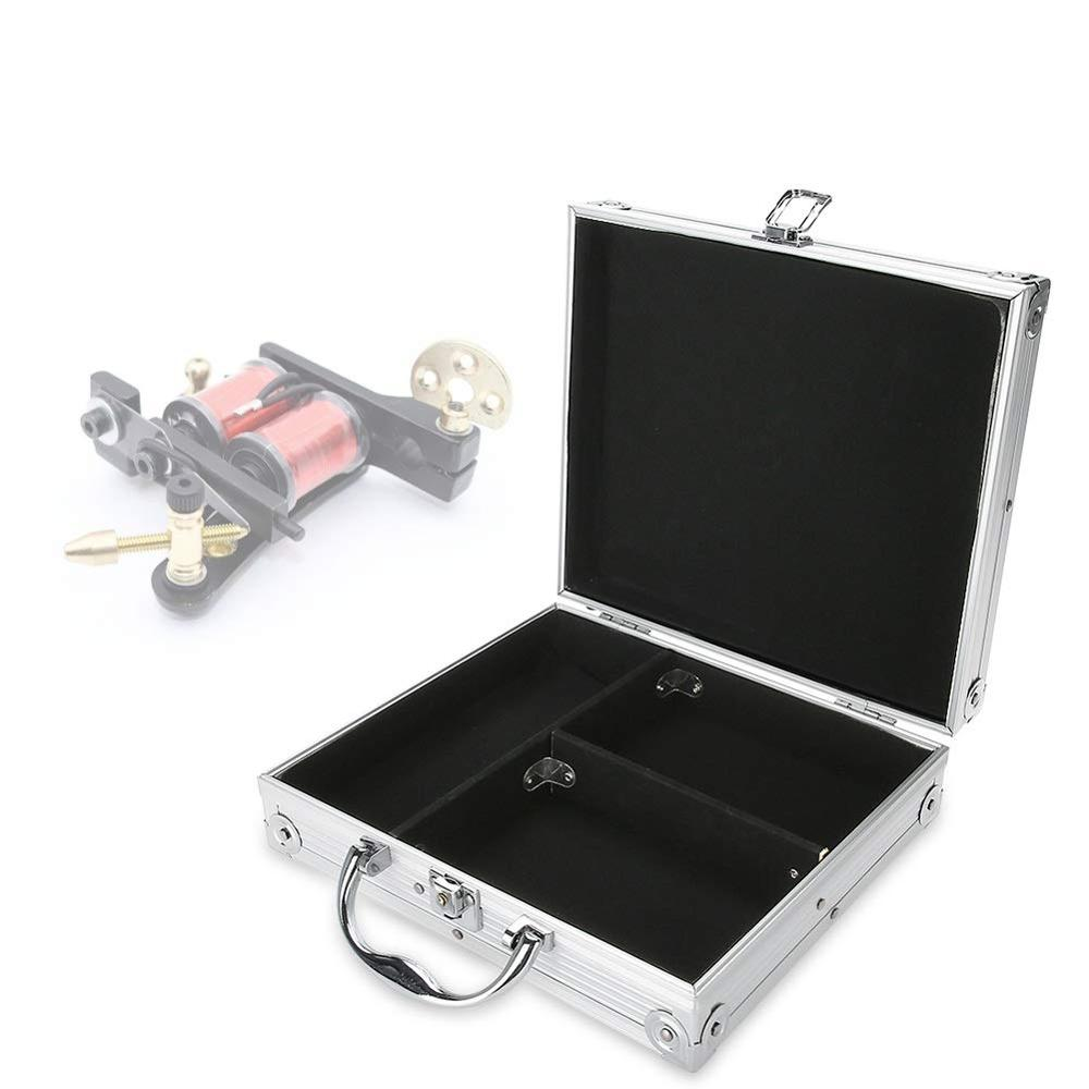 Aluminiumlegering Reizen Tattoo Body Art Machine Case