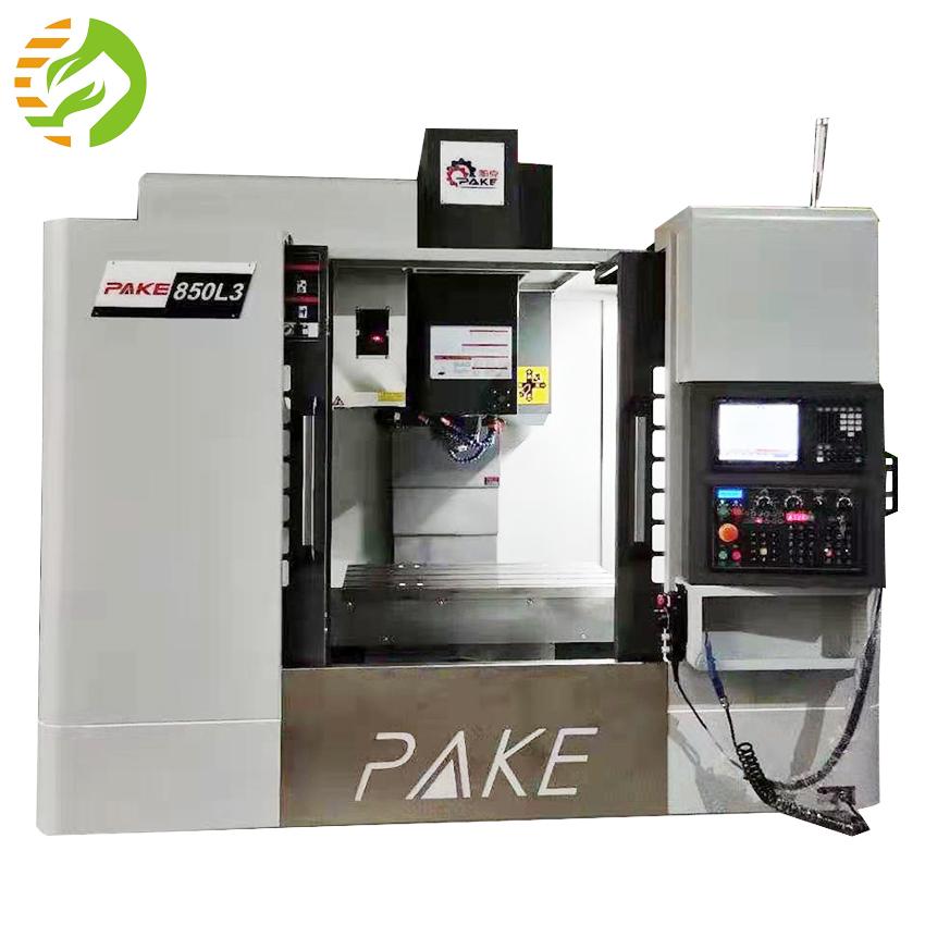 대만 PAKE VMC850 Mitsubish 80 시스템 3 축 CNC 라인 레일 수직 머시닝 센터