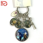Custom tourism Travel metal souvenir keychains
