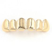 Подходит для всех верхних серий золотистого цвета с зубами и нижними зубами, серебристые мужские хип-хоп панк, подарок на Хэллоуин, вечерние...(Китай)