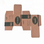Recyclable Brown Kraft Paper Custom Design Fancy High Quality OEM/ODM Brown Kraft Paper Box